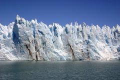 Ściana lód zdjęcia royalty free