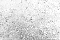 Ściana malował z chrom kiści farbą w black&white zdjęcie stock