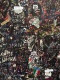 Ściana miłość w Verona Włochy Obraz Stock