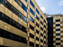 ściana nowożytny szklany budynek obraz stock