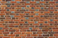 Ściana od czerwonej cegły Zdjęcie Royalty Free