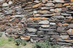 Ściana od skała kamieni w Gruzja obrazy stock