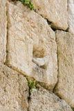 ściana płaczu Fotografia Stock