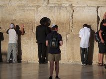 ściana płaczu jerusalem Obraz Royalty Free