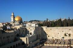 ściana płaczu jerusalem Fotografia Royalty Free