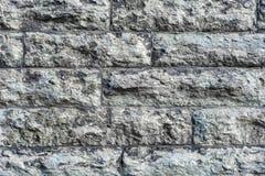 Ściana popielaty kamień Obrazy Stock