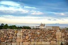 Ściana przed oceanem Obrazy Royalty Free