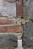 Ściana robić czerwone cegły obrazy royalty free