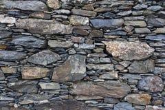 Ściana robić iłołupek skała w Cinque Terre obraz royalty free