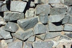 Ściana robić kamienie Fotografia Stock