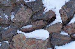 Ściana skały Zdjęcie Royalty Free