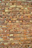Ściana stare czerwone cegły Zdjęcia Stock
