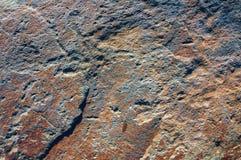 Ściana, tło, tekstura wyznaczająca skała Fotografia Royalty Free