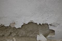 Ściana uszkadzająca wilgotnością zdjęcia stock