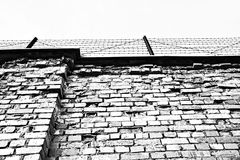 Ściana więzienie Zdjęcie Royalty Free