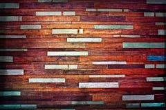 Ściana wietrzejący drewno Obrazy Stock