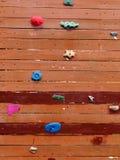 ściana wspinaczkowa Obraz Stock