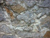 Ściana wykładający kamień, tekstura, tło zdjęcia stock
