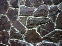 Ściana wykładający kamień, tekstura, tło obrazy royalty free