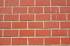 ściana z cegieł Fotografia Royalty Free