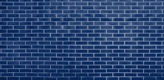 Ściana z cegieł, Błękitny cegły ściany tekstury tło dla graficznego projekta ilustracja wektor