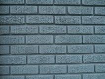 Ściana z cegieł błękitny Tekstura Obrazy Royalty Free