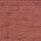 Ściana z cegieł, bezszwowa tekstura, płytka Zdjęcie Stock