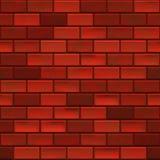 Ściana Z Cegieł bezszwowy ilustracji