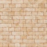 Ściana z cegieł bezszwowy wzór Zdjęcie Stock