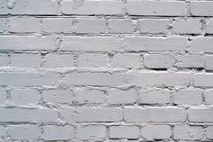 Ściana z cegieł biała cegła Zdjęcia Royalty Free