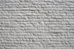 ściana z cegieł biel Zdjęcie Royalty Free