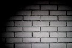 ściana z cegieł biel Zdjęcia Stock