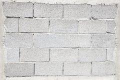 ściana z cegieł biel Obrazy Stock