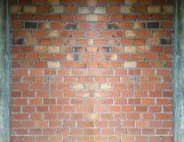 Ściana z cegieł budowy tło Obrazy Stock