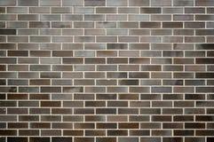 Ściana z cegieł ciemny Tło zdjęcie stock