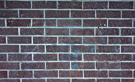 Ściana z cegieł czerep, tekstura, tło Obraz Stock