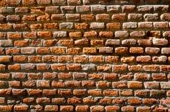 Ściana z cegieł czerwona tekstura Fotografia Royalty Free