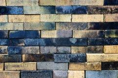 Ściana Z Cegieł Deseniowy Backgroud zdjęcie stock