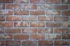 Ściana z cegieł dla tekstury deseniuje tło fotografia stock