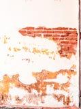 Ściana z cegieł mówi opowieści i teraźniejszość w przeszłości zdjęcie royalty free