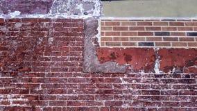Ściana Z Cegieł Miasto Nowy Jork Zdjęcie Stock