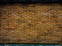 Ściana z cegieł ogrodzenie Obraz Stock