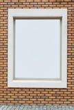 Ściana z cegieł rama Obrazy Royalty Free