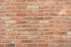 Ściana z cegieł rocznika aspekt Zdjęcia Stock