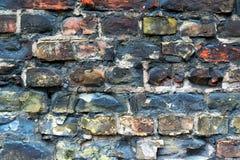 Ściana z cegieł tła tekstura Zdjęcia Stock