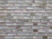 Ściana z cegieł tła tekstura w podławym modnym projekcie Obraz Royalty Free