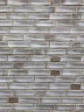 Ściana z cegieł tła tekstura w podławym modnym projekcie Zdjęcia Stock