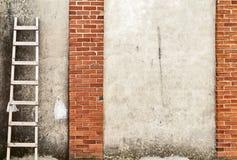 Ściana z cegieł tło Obrazy Royalty Free