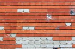 Ściana Z Cegieł tło Zdjęcia Stock