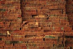 Ściana z cegieł tekstura Zdjęcia Royalty Free
